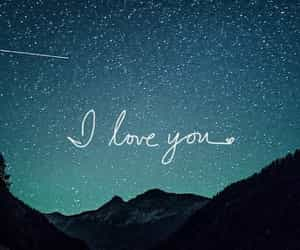 love, wallpaper, and stars image