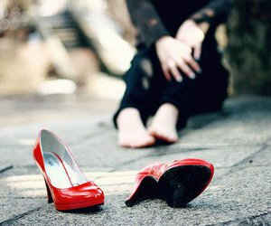 freedom, red, and shoes image