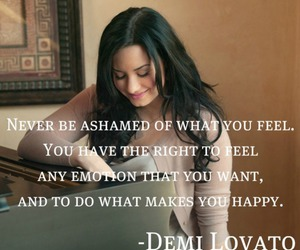 demi lovato, emotion, and feel image