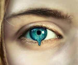 amazing, blue eye, and art image