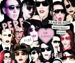 Marilyn Manson, music, and rock image