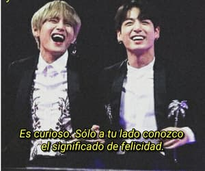 frases, bts, and vkook image
