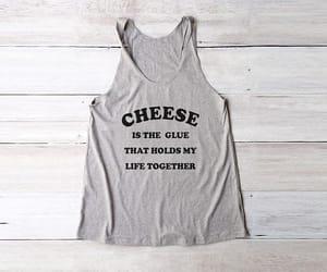 cheese, fashion, and fashion shirt image