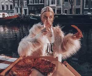 fashion, fur, and pizza image