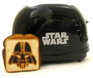 star wars, toaster, and darth vader image
