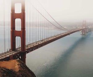 california, Dream, and golden gate image