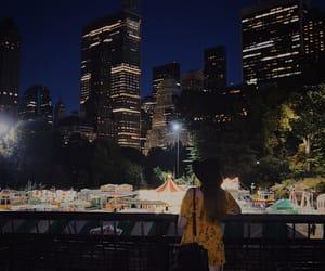 ferris, new york, and night image