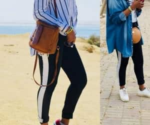 hijab, sporty, and athleisure image