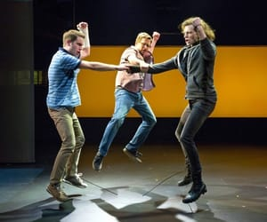 ben platt, mike faist, and dear evan hansen image