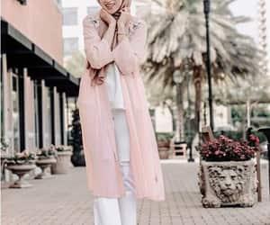 dress, skirt, and hijab image
