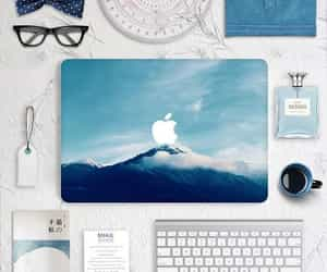 apple, nature, and white image