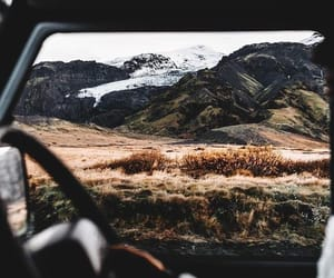 travel, nature, and car image