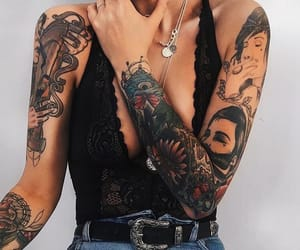 tattoo and style image