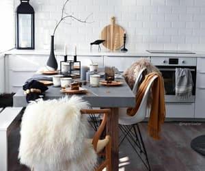 kitchen, interior, and modern image