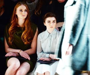sophie turner and maisie williams image