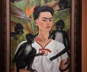 art, frida kahlo, and woman image