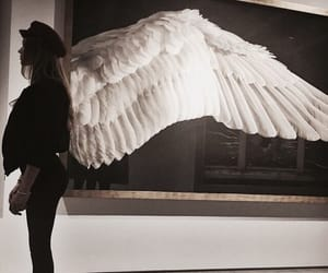 girl, fashion, and wings image