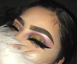 makeup, girls, and fashion image