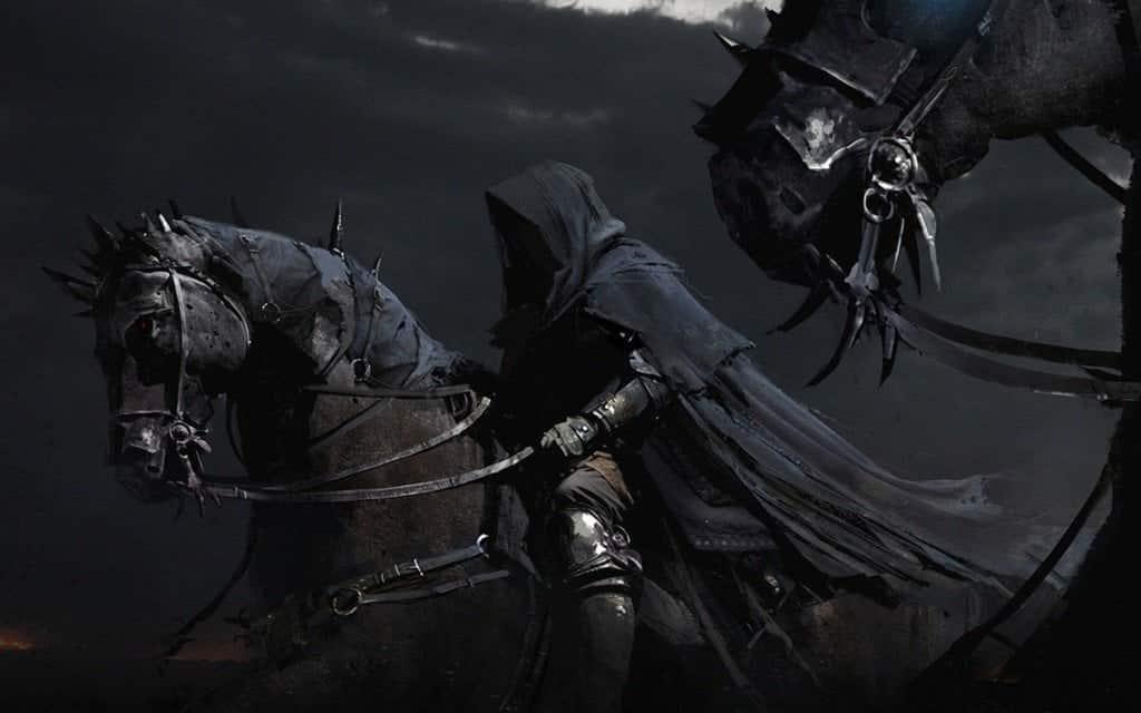 dark, horse, and fantasy image