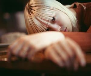 descansando, mirada, and resting image