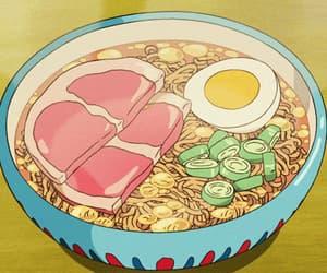 food, anime, and gif image