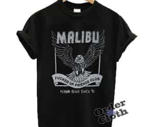 malibu, shirt, and gigihadidstyle image
