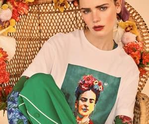 belleza, frida kahlo, and moda image