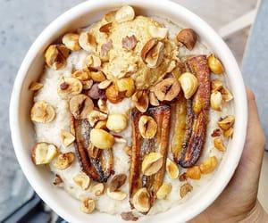 banana, fitness, and breakfast image