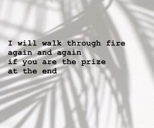again and again, fire, and qoute image