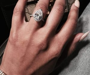 diamond, luxury, and nails image