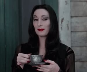 morticia, gif, and the addams family image