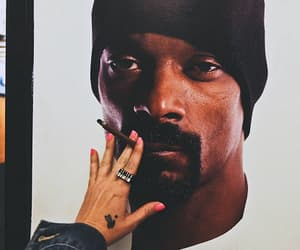 smoke, snoop dogg, and cigarette image
