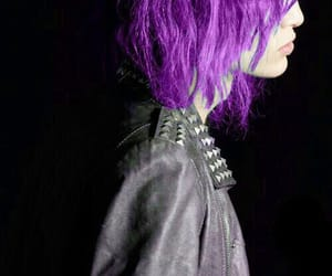 punk, purple, and violet image
