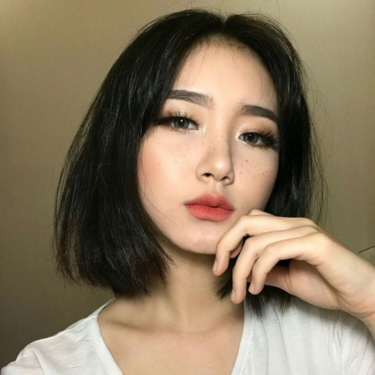 276 Images About Short Hair Asian Girl On We Heart It See More About Kpop Ulzzang And Asian