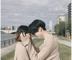 couple, ulzzang, and boy image