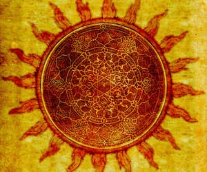 hippie and sun image