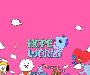 bts, jhope, and hope world image