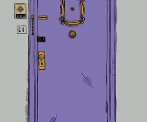 friends, door, and series image