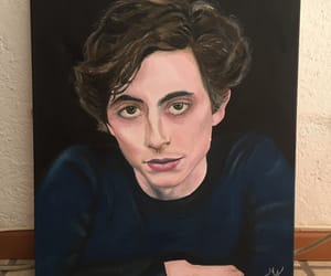 actor, art, and painting image