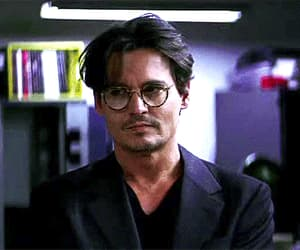 gif and johnny depp image