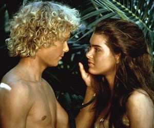 love, blue lagoon, and couple image