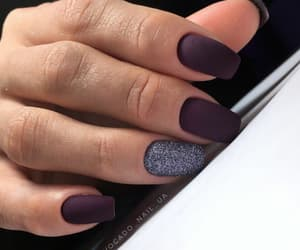 amazing, nails, and purple image
