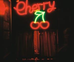 cherry, aesthetics, and glow image