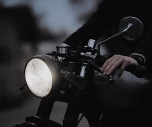 motorcycle and black image