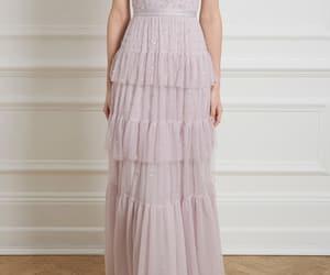 dress, fashion, and lillac image