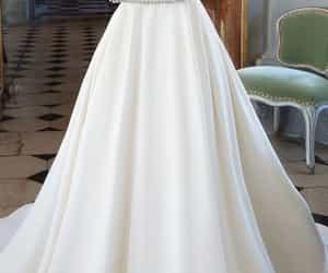 branco, dress, and white image