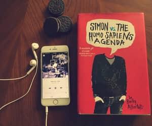 book, love simon, and becky albertalli image