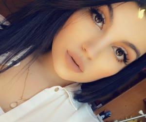 fashion, makeup, and kylie image