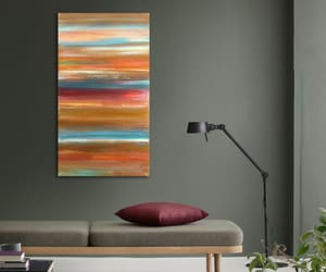 Abstract Painting, modern art, and original art image