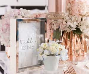 rose gold, pink, and decoration image